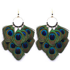 peacock feather earrings s online get cheap peacock feather earrings aliexpress