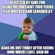 Rejected Meme - rejected by girl meme guy