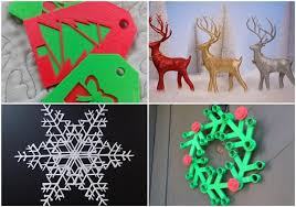 3ders org 3ders top 15 3d printed ornaments and