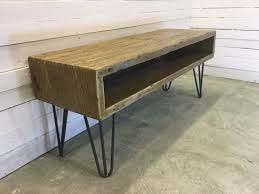 Wooden Tv Stands And Furniture Created By Oxrusticfurniture U0027rustic Industrial Hairpin Leg
