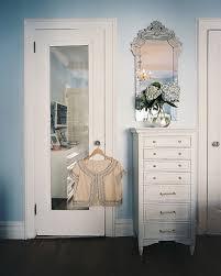 Espresso Closet Doors Mirrored Door Contemporary Closet Lonny Magazine