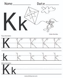 D Nealian Handwriting Worksheets Handwriting Letter K Docoments Ojazlink