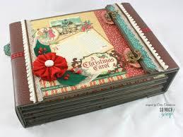 8 1 2 x 11 photo album so much scrap 8 1 2 x 11 christmas carol album