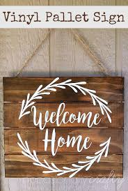Home Decor With Wood Pallets Vinyl
