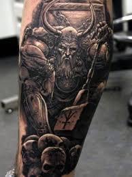 leg tattoos for