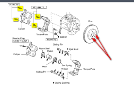 toyota avalon brakes how to remove replace the front rotors of a toyota avalon 2007