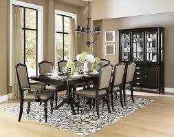 dining room tables for 10 homelegance marston 10 piece double pedestal dining room set in