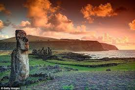 easter island civilisation didn u0027t trash environment daily mail