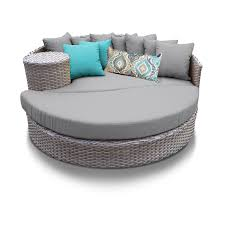 Turquoise Patio Furniture by Harmony Circular Sun Bed Outdoor Wicker Patio Furniture