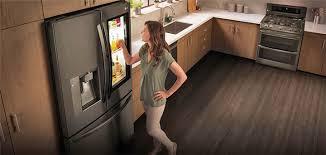 domotique cuisine le frigo connecté de lg avec assistant vocal ma vie connectée