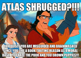 Atlas Shrugged Meme - atlas shrugged review summary and quotations guide kurobana