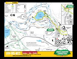 Oregon Trail Maps by Lost Lake Whistler Hiking And Biking Trail Map Lost Lake