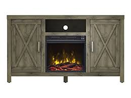 windsor corner infrared electric fireplace media cabinet 23de9047 pc81 amazon com lawson electric fireplace media console spanish gray