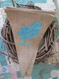 Easter Decorations Chicks by 84 Best Burlap Easter Decorations Images On Pinterest Easter