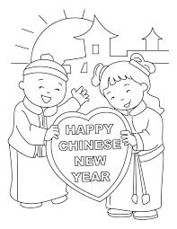 happy new year preschool coloring pages chinese new year coloring pages leivancarvalho me