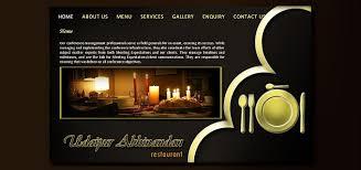 restaurant website design udaipur rajasthan india restaurant