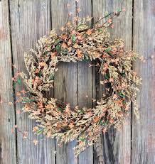 door wreath front door wreath farmhouse wreath rustic