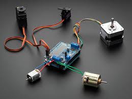 sik guide arduino adafruit motor stepper servo shield for arduino v2 kit v2 3 id