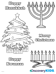 winter holidays coloring page discovery