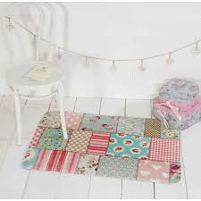 Childrens Bedroom Rugs Uk Kiddy Print Pink Blue Mat By Flair Rugs Therugshopuk