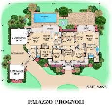 floor plans of mansions palazzo prognoli dallas design group