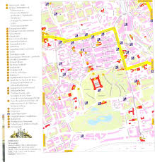 Kassel Germany Map by Guide To Bach Tour Gotha Maps