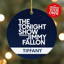 personalized the tonight show starring jimmy fallon ornament