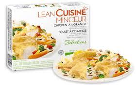 cuisine minceur repas cuisinés lean cuisine minceur à 1 après coupon