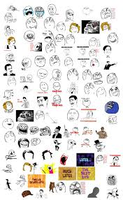 Meme Face List - fun funny troll face images and rage face pics mems gifs
