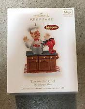 hallmark muppets chef ebay