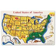 usa map jigsaw level five doug usa map floor puzzle 51 pcs 2 x 3