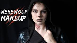 Werewolf Halloween Makeup by Werewolf Makeup Tutorial Youtube