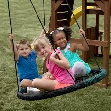 amazon com swing n slide monster web swing toys u0026 games