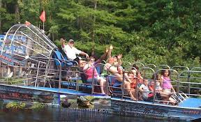 fan boat tours florida tom jerry s airboat rides sumter county tourism