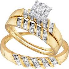 cheap wedding rings sets his and hers wedding ring sets