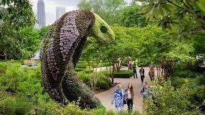 atlanta botanical gardens sculptures atlanta youtube