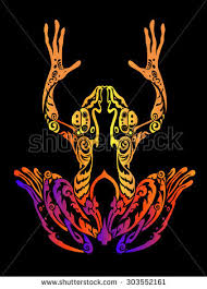 tribal frog stock images royalty free images u0026 vectors shutterstock