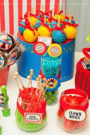 circus theme decoration ideas dazzling circus themed centerpieces