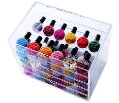 5 tier acrylic cosmetic organizer drawers box 26 17 20cm at