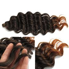 crochet hair extensions pre loop wand curl crochet hair extensions in black and brown