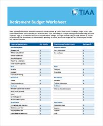 printable budget worksheet 10 free word excel pdf documents