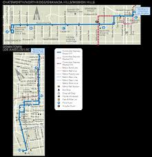 Map Of Venice Beach Commuter Express 419 Ladot Transit Services