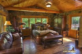 Luxury Log Cabin Homes Business U0026 Home Log Cabin Master Bedrooms With Fireplaces