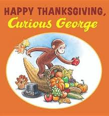 books about thanksgiving happy thanksgiving curious george by h a