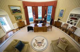 oval office decor the newly renovated oval office the donald