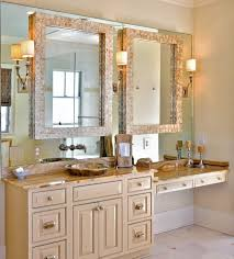 Large Bathroom Mirrors Cheap Farmhouse Style Diy Vanity Mirrors Tutorial Must For