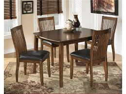Ashley Furniture Glass Dining Sets Steve Silver Wilson 7 Piece 60x42 Dining Room Set In North Shore