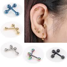 ear clasp hot sale 2pcs fashion women men ear nail ear clasp ear bone
