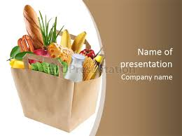 supermarket grocery spaghetti powerpoint template id 0000036426