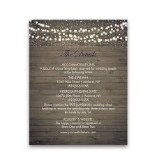 enclosure cards winery vineyard wedding information enclosure cards
